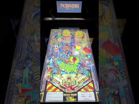 Arcade1up Pinball Road Show Gameplay from Kevin F
