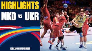 North Macedonia vs Ukraine Highlights Day 2 Men s EHF EURO 2020
