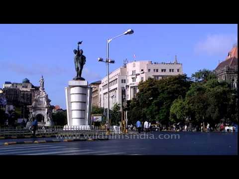 Hutatma Chowk and Flora Fountain (Mumbai)