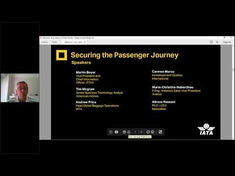 Reshaping the Passenger Experience  Securing the Passenger Journey - Webinar