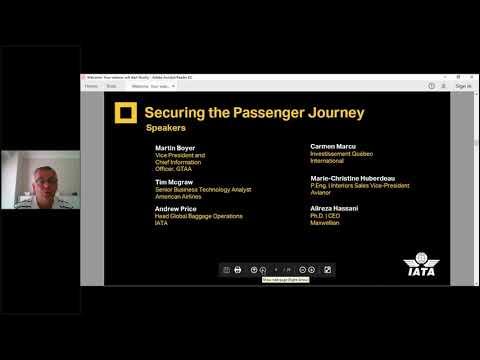 Reshaping the Passenger Experience  Securing the Passenger Journey - Webinar