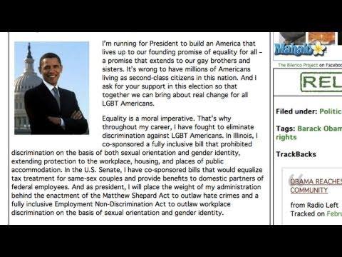 President Obama On DOMA