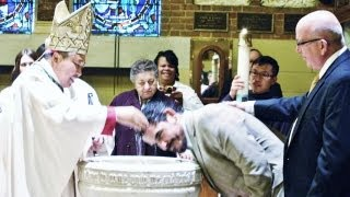 RCIA Baptism and Holy Sacraments - Easter Vigil 2013