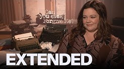 Melissa McCarthy Reveals She Didn't Know Lee Israel's Story | EXTENDED