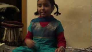 Amazing!! Wonder Child Jayantika Dey d/o Devashish Dey singing Indian Classical Music