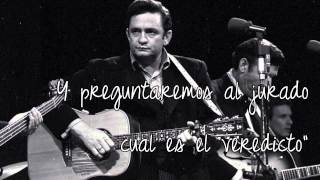 I Hung My Head - Johnny Cash (Traducida Al Español)