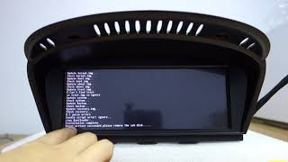 How to update firmware Software on BMW Android Head Unit Screen?
