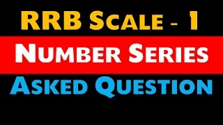 Number Series With Tricks  (IBPS RRB Scale - 1 Exam ) Memory Based 2017 Video