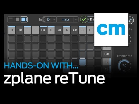 zplane reTune: Hands-on with Computer Music magazine Mp3