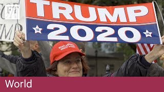 Immigration and Trump dominate US midterm elections