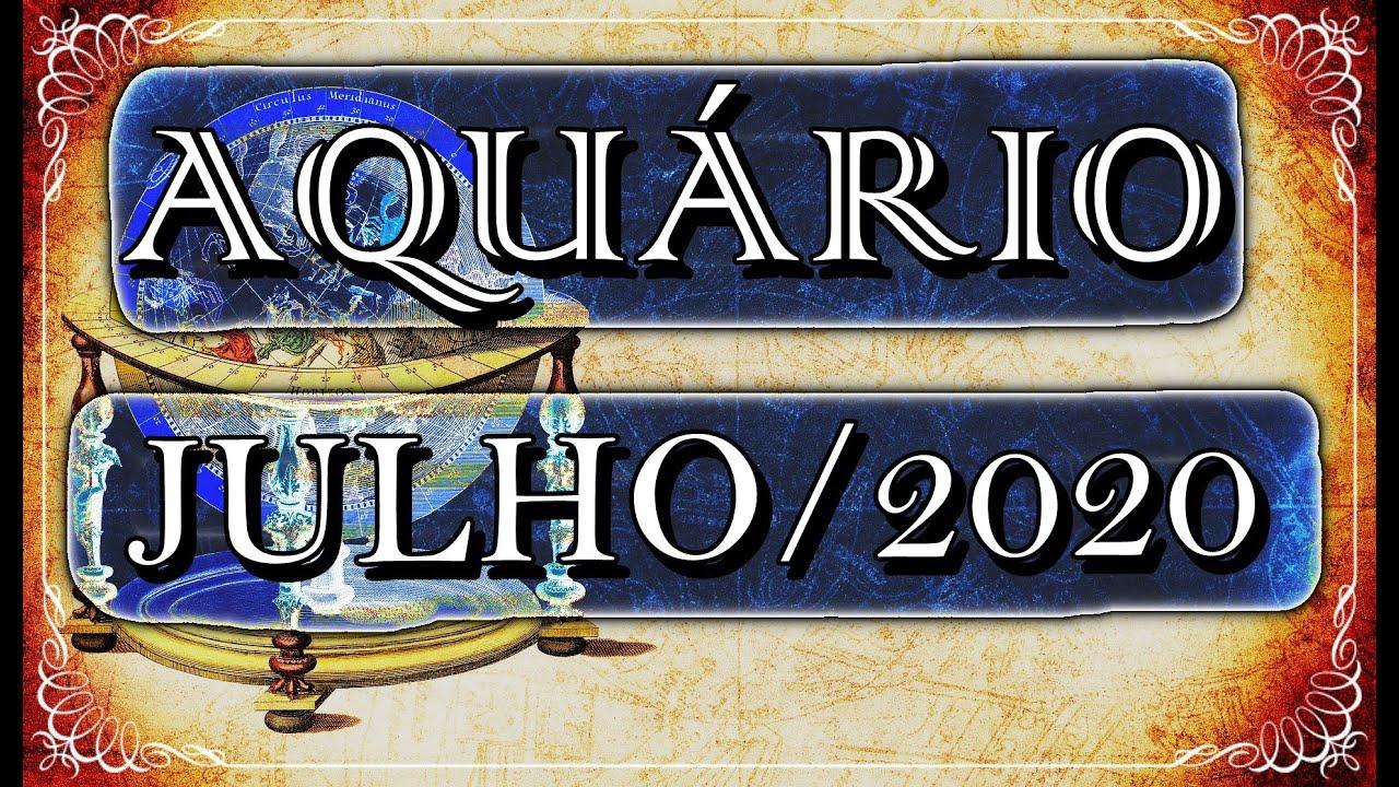 ♒ AQUÁRIO JULHO/2020 - SUCESSO!! 🏅🏅