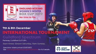 ENGLAND BOXING WOMEN'S WINTER BOX CUP 2019 - Day 1 Ring C
