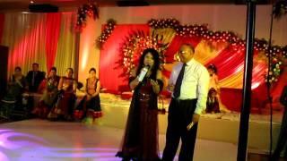 Ruchika Davar anchors wedding sangeet