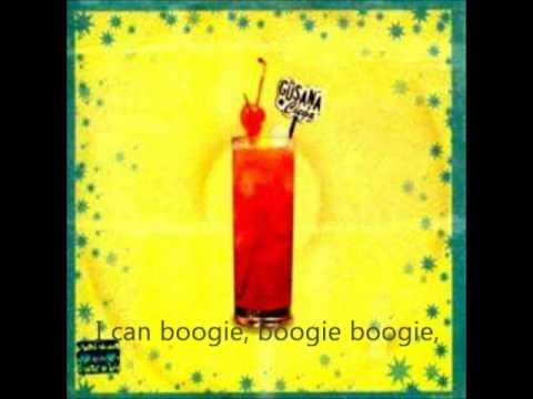 La Gusana Ciega - Yes sir i can boogie con letra