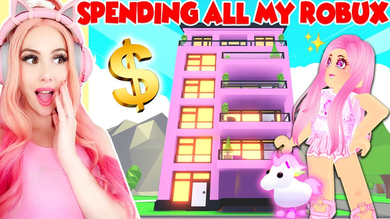Spending All My Robux On The Brand New Luxury Apartments In Adopt
