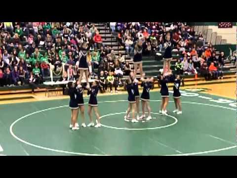 High school cheerleading FAIL!!