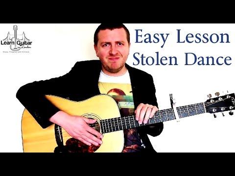 Stolen Dance - Easy Guitar Tutorial - Milky Chance - Beginner Friendly