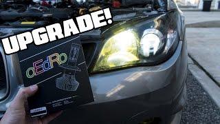 oedro   9005 and h7 led bulbs
