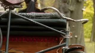 Крепление велосипеда на ТС. Фрагмент из Сериала Волчье Солнце 2014 г. Режиссер Сергей Гинзбург