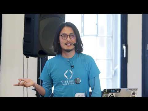Intro to ENS by Makoto Inoue at Winding Tree Hackathon Prague (October 24-25, 2018)