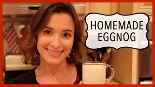 Homemade Eggnog: Holiday Recipe Thumbnail