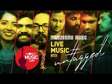 World Music Day 2021 - Live with UNTAGGED | Manorama Music | June 21 @7 pm