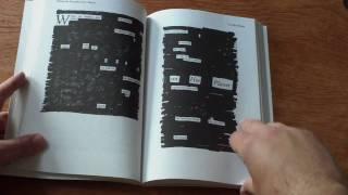 Newspaper Blackout Book Trailer