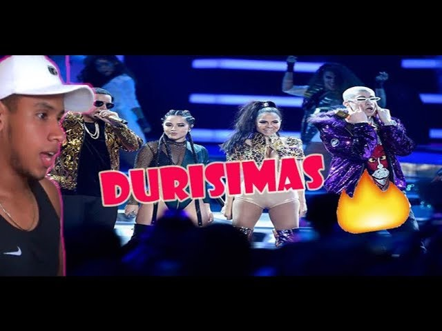 Reaccion A Dura Remix Daddy Yankee Ft Bad Bunny Natti Natasha Becky G Lyric Video Ceskel