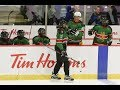HOCKEY NIGHT WITH KENYA: Tim Hortons spikes the competition!