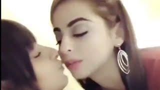 Arey Sambhal Kay - Sanam  Chaudhary & Yashma Gill Kiss each other on camera