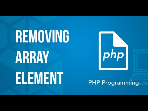 Removing array Element PHP Tutorial
