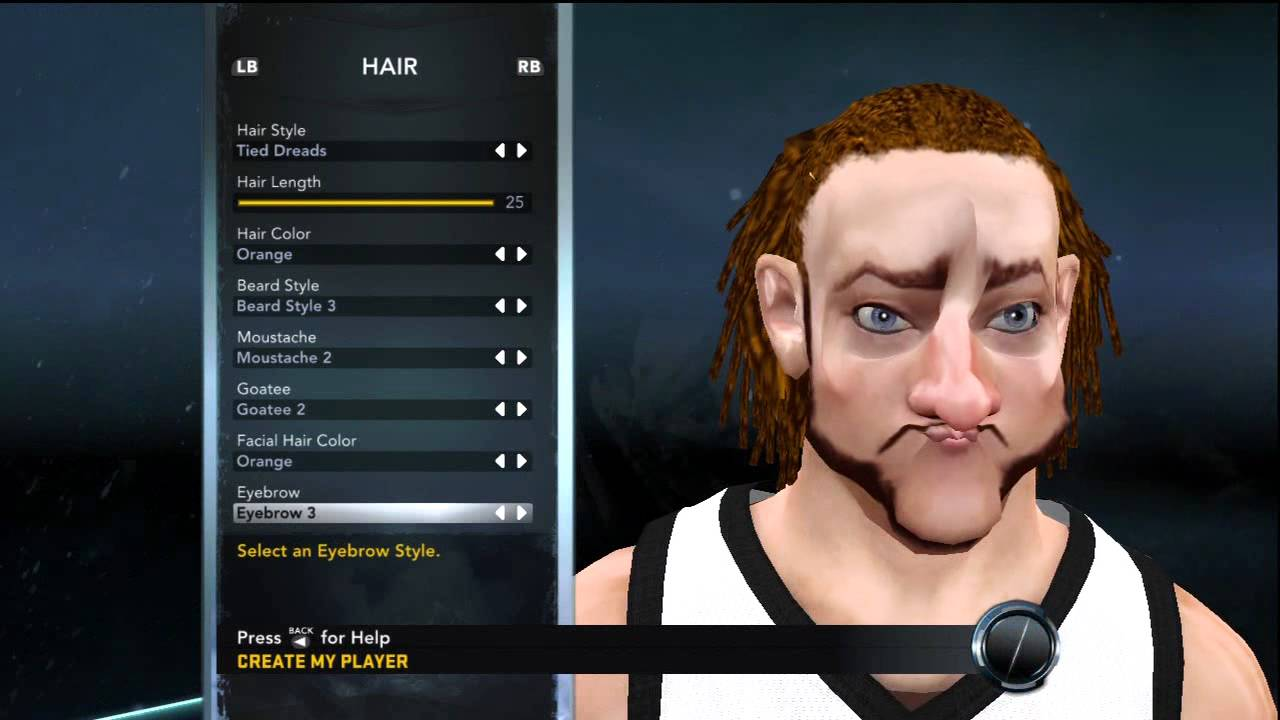 "NBA 2K12- Ugliest ""My Player"" Creation Ever - YouTube"
