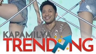 Jhong Hilario heats up the It's Showtime stage