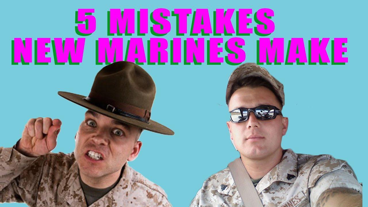 5 mistakes new marines make youtube