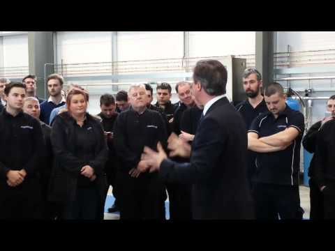 David Cameron visit