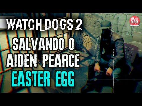 WATCH DOGS 2 - Salvei o AIDEN PEARCE EASTER EGG / + Vlog no Strip Club ( ͡° ͜ʖ ͡°)