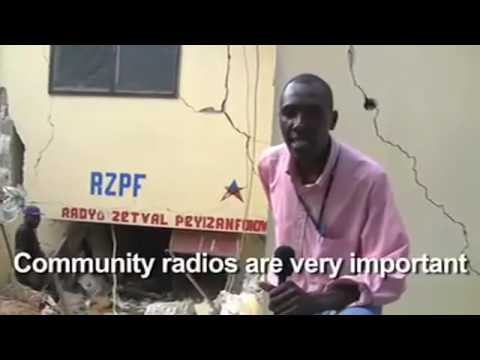 Radio Zetwal Peyizan (Star of the Peasant) Destroyed in Earthquake