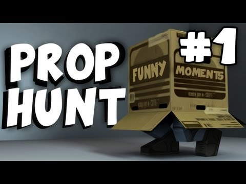 Thumbnail: Prop Hunt Garry's Mod: Funny Moments Montage #1