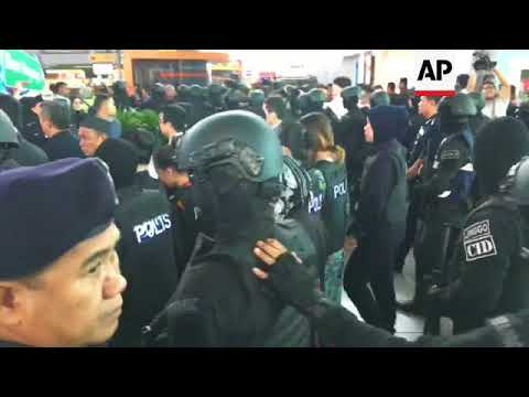 Trial re-enactment of Malaysia airport attack on Kim Jong Nam