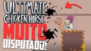 A PARTIDA MAIS DISPUTADA DE TODOS OS TEMPOS! - Ultimate Chicken Horse