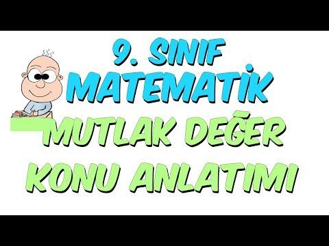 9.Sınıf Matematik | Mutlak Değer