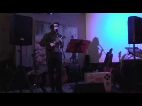 Jimmy Windows performing at the Twenty Ten Bar Matlock 25/04/14.