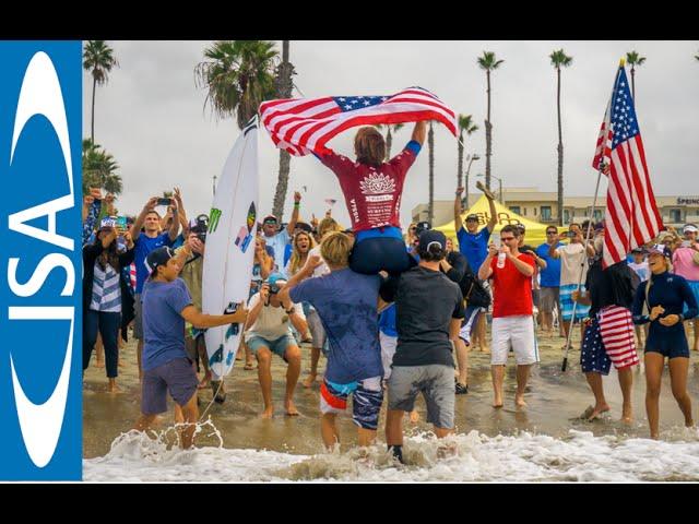 Final Day - VISSLA ISA WORLD JUNIOR SURFING CHAMPIONSHIP 2015
