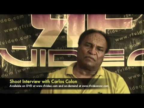 Carlos Colon Shoot Interview Preview