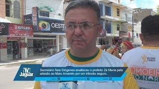 Secretário Ítalo Diógenes enalteceu o prefeito Zé Maria pela adesão ao Maio Amarelo por um trânsito