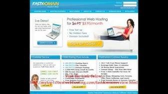 FastDomain Review & Coupon Code