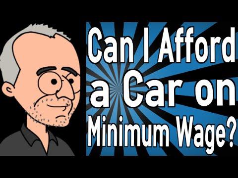 Can I Afford a Car on Minimum Wage?