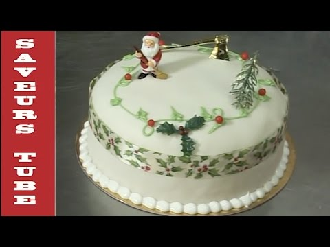 Christmas Cake with TV Chef Julien from Saveurs Dartmouth U.K.