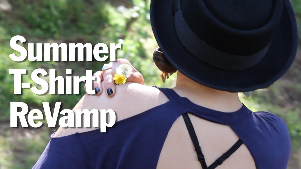 Easy Summer T-shirt Revamp!