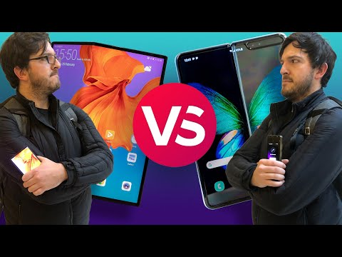 The Mate X and Galaxy Fold have a Fold-off